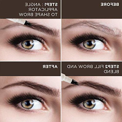 AsaVea Tattoo Eyebrow Waterproof Ink Gel Tint with Four Lasting Smudge-Proof Natural Defined All Day