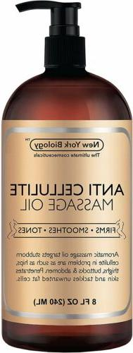 B Anti Cellulite Treatment Massage Oil All Natural Ingredien
