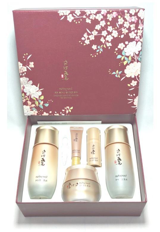 Sooryehan Bichaek True-Rejuvenating Special Set / Skin Emuls