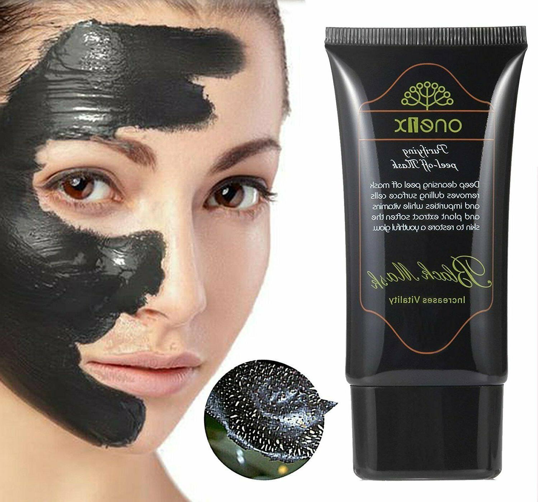 black mud face mask blackhead