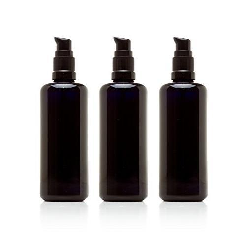 black ultraviolet glass push pump