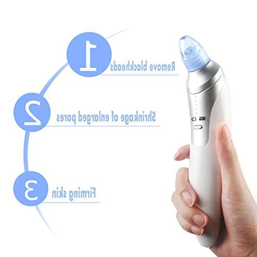 Acne Facial Pore Cleaner Electronic Extractor Tool Heads Skincare