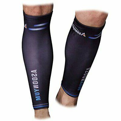 breathable calf compression sleeve for running cycling