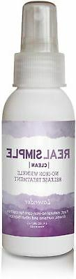 Real Simple Clean Travel-Size Wrinkle Release, Lavender 3-Ou