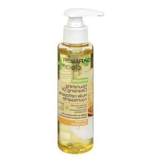 Garnier Clean+ Nourishing Cleansing Oil For Dry Skin, 4.2 Fl