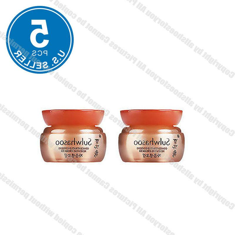 Sulwhasoo Concentrated Ginseng Renewing Cream Ex 5ml x 5pcs