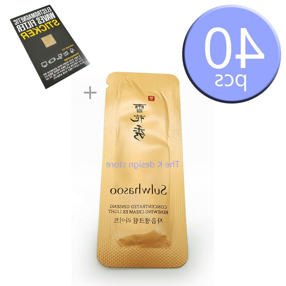 Sulwhasoo Concentrated Ginseng Renewing Cream EX Light 10ml