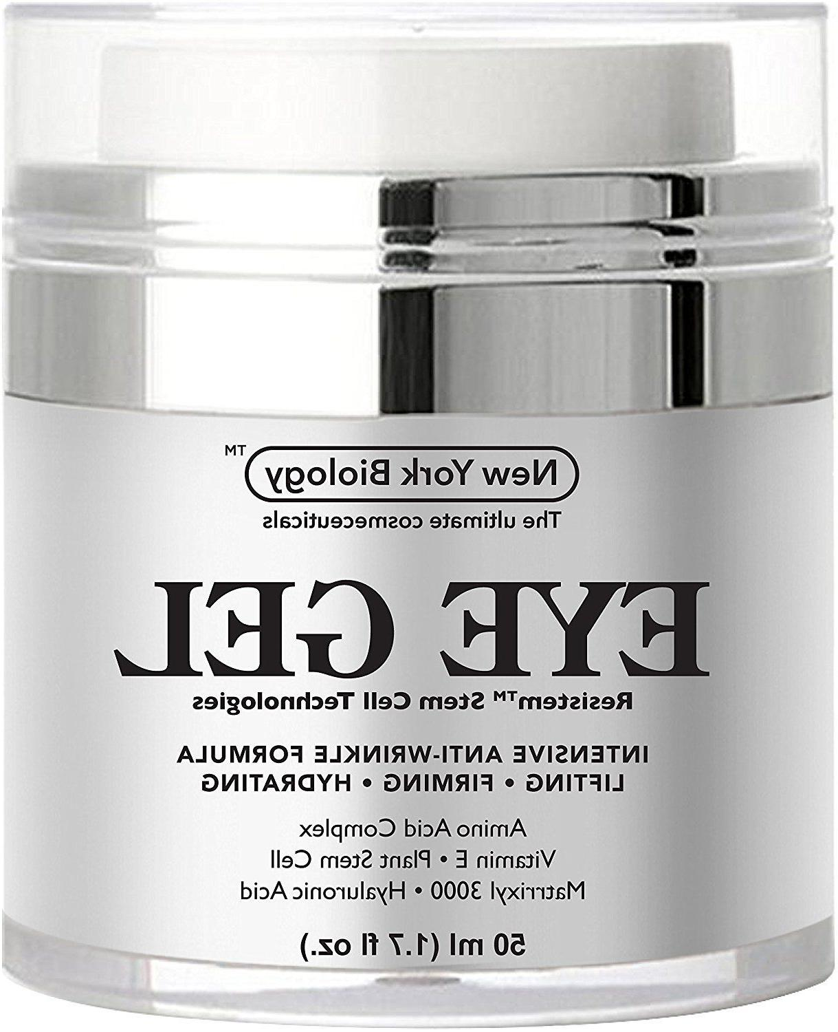 New York Biology Cosmestics Eye Gel Resistem Stem Cell Techo