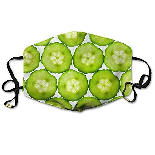 cucumbers slice skincare creative mouth