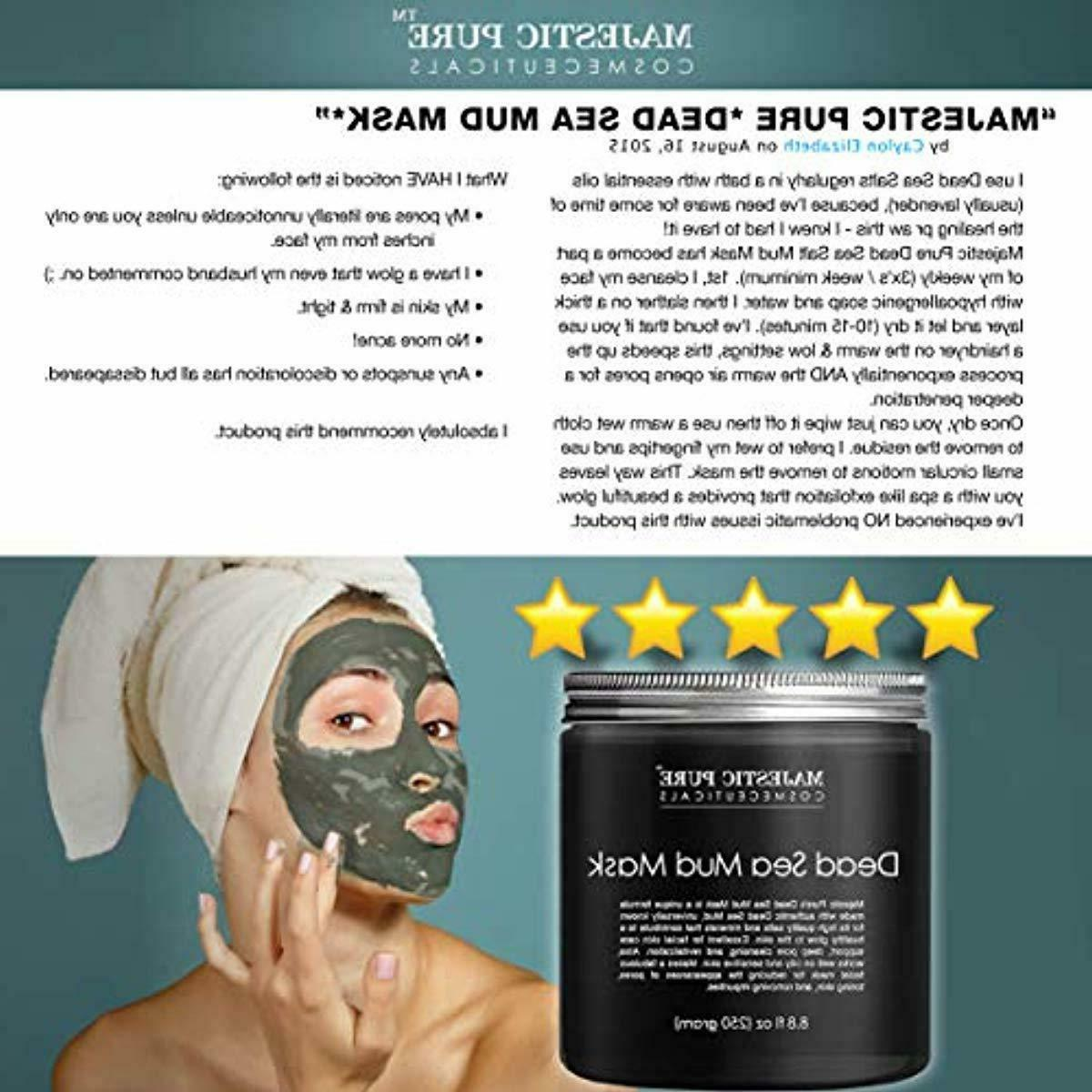 MAJESTIC Dead Sea Mud - Natural Face and for -