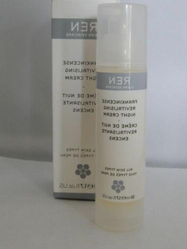 Frankincense Revitalizing Night Cream by **REN Skincare** 50