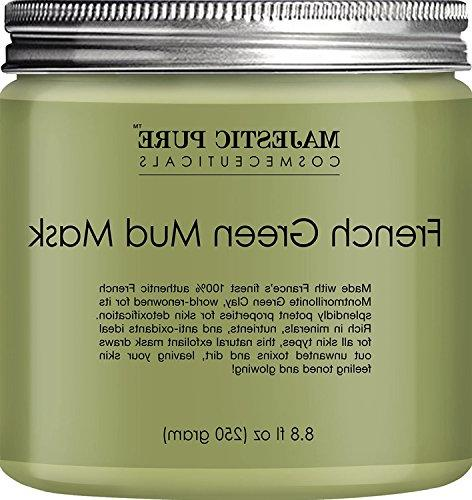 french green mud mask