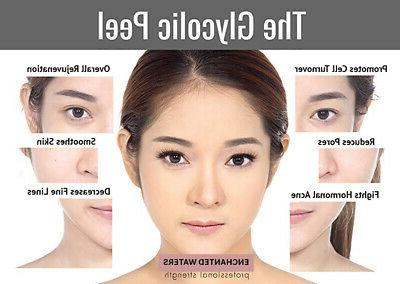 Glycolic Peel Medical Grade 100% Pure Scars Wrinkles