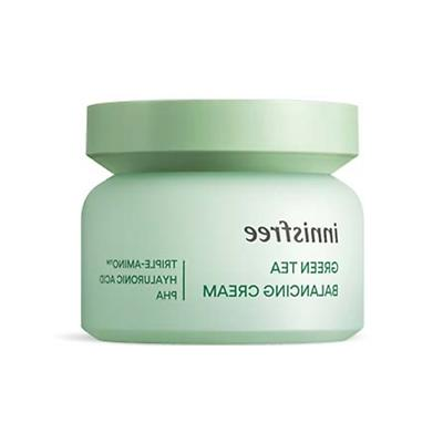 Innisfree Green Tea Balancing Cream EX 50ml Free gifts