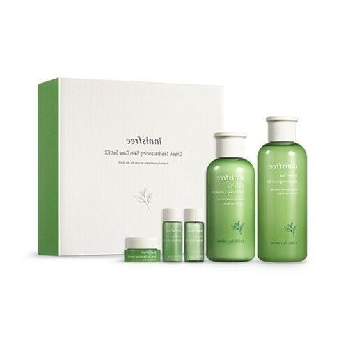Green Tea Balancing Skin Care Set / Korean Cosmetics