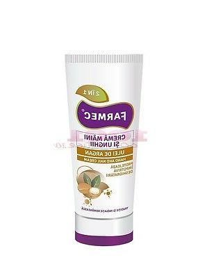 Hand & nail cream - protects skin from dryness, dehydration