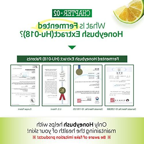 InnerSet Honeybush Pumpkin Nutricosmetic ml 72 pouches - Skincare Patented Formulation/Made in from US