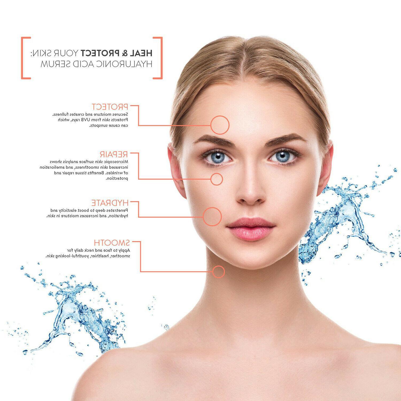 HYALURONIC Anti Aging Hydrating Serum, Plumps