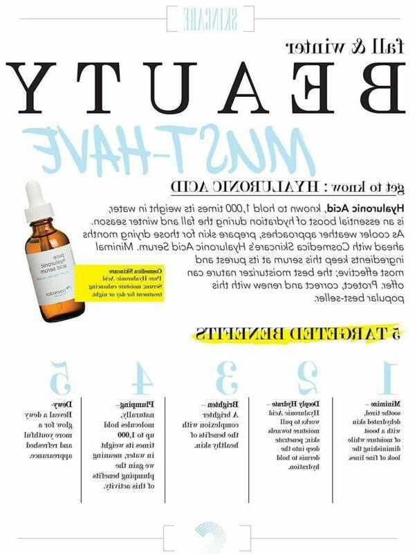 Hyaluronic Skin-- Anti-Aging Serum--