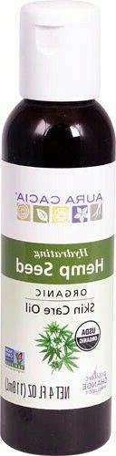 Aura Cacia Hydrating Hemp Seed Organic Skin Care Oil