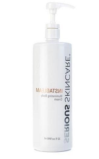 Serious Skincare Instagleam Illuminating Body Cream 32oz Pum