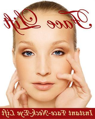 Instant Face, Neck and Eye Lift, Facelift Tapes and Bands. 4