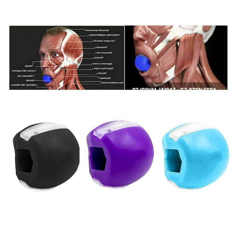 jaw exerciser jaw line exercise fitness ball