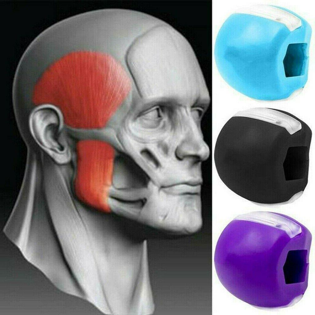 JawLine Exercise fitness ball neck toning Jaw