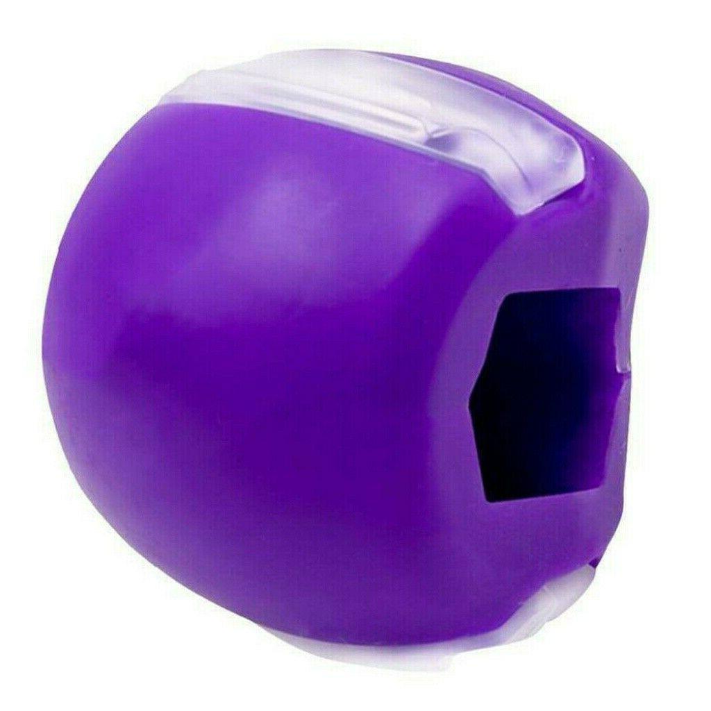 JawLine Exercise Jawlineme fitness ball neck face toning