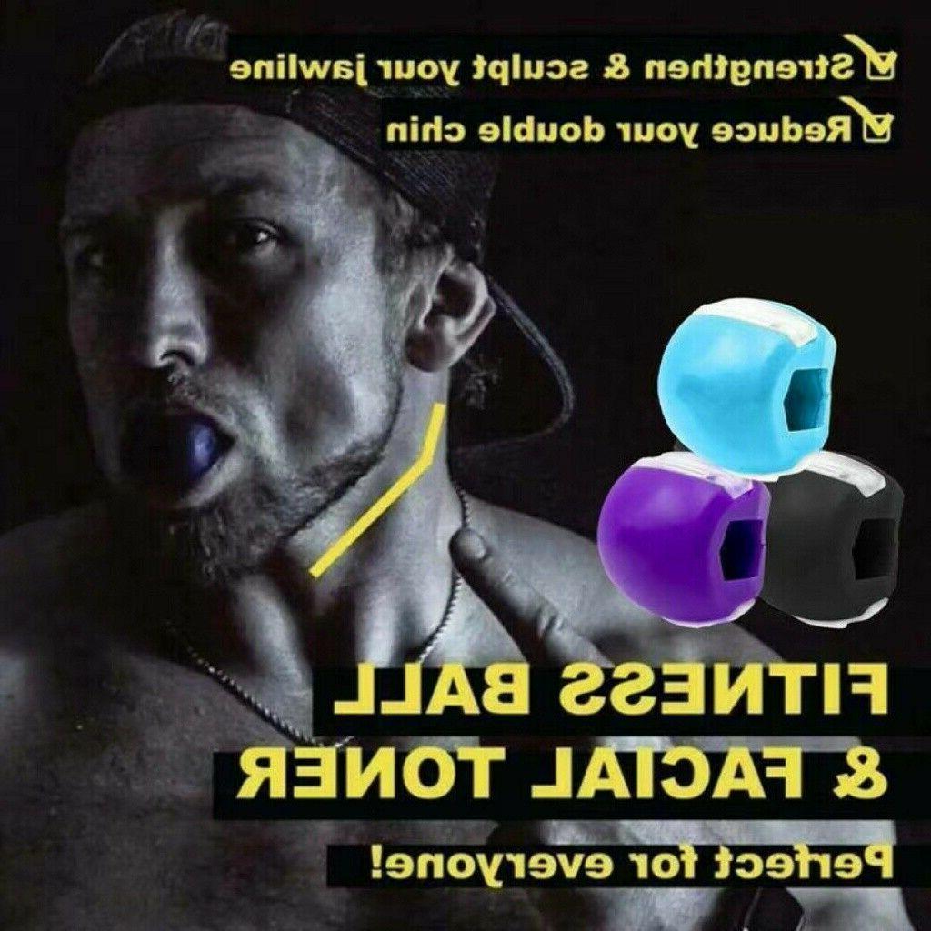 jawline exercise jawlineme exerciser fitness ball neck