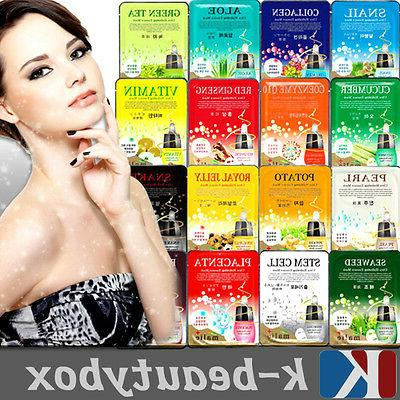 korean essence facial sheet