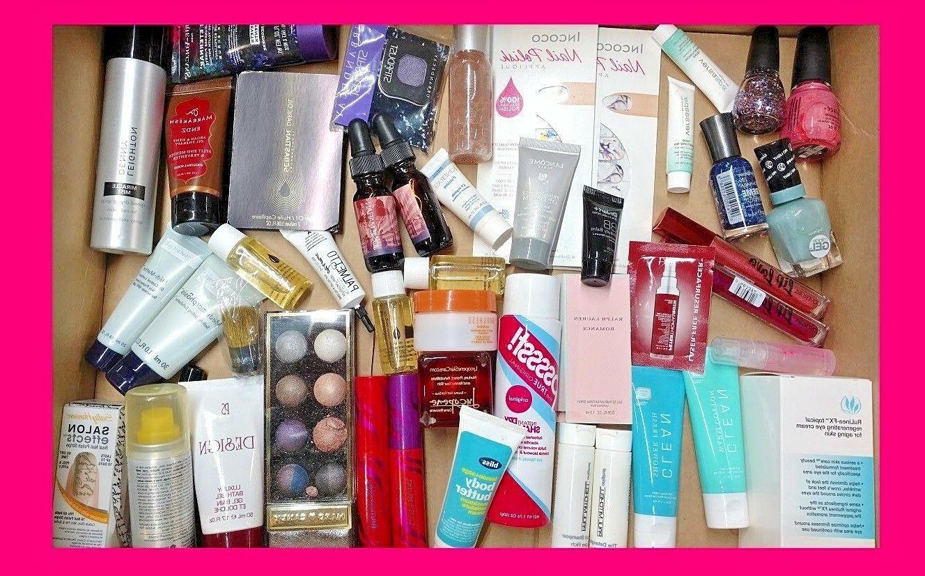 Mixed Lot Makeup Beauty Skincare Nail 10Pc + Makeup Bag! Ips