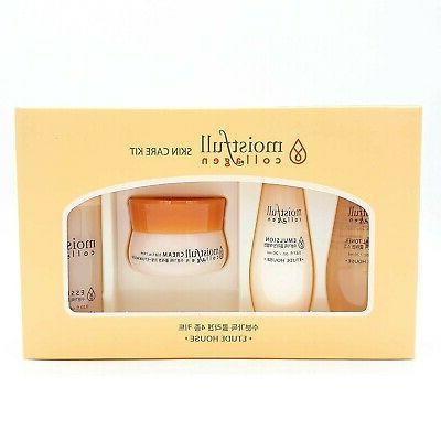 moistfull collagen skin care miniature kit 4pcs