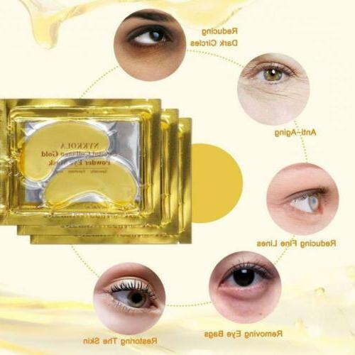 NYKKOLA Eye Mask Powder Crystal Collagen For...