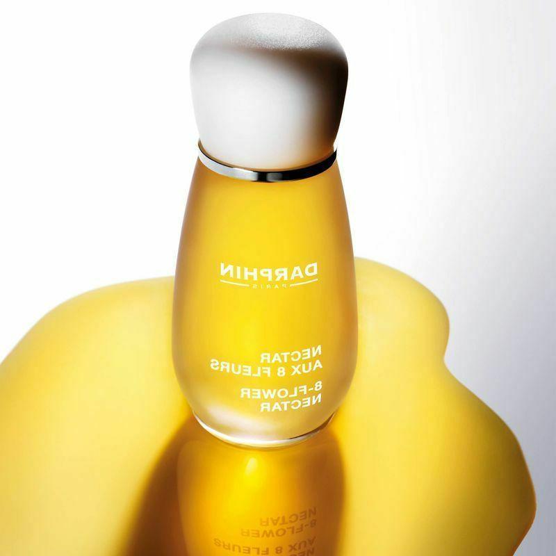 New In Box DARPHIN Paris Elixir 8-Flower Nectar .5oz/15ml