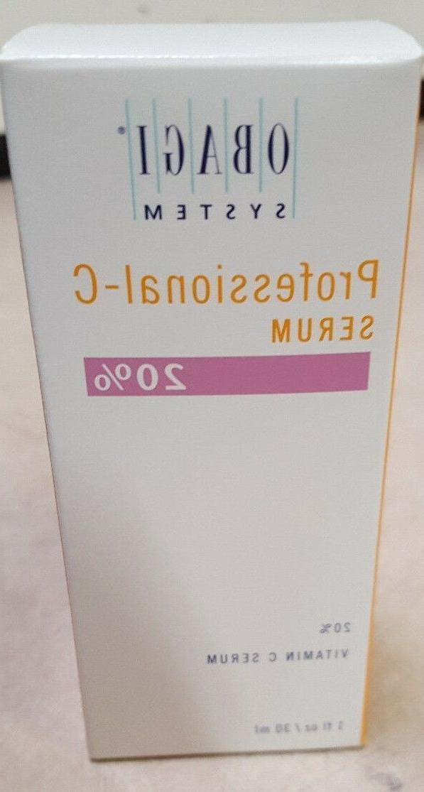New in Box Obagi Professional C-20% Vitamin C Serum 1 oz 30m