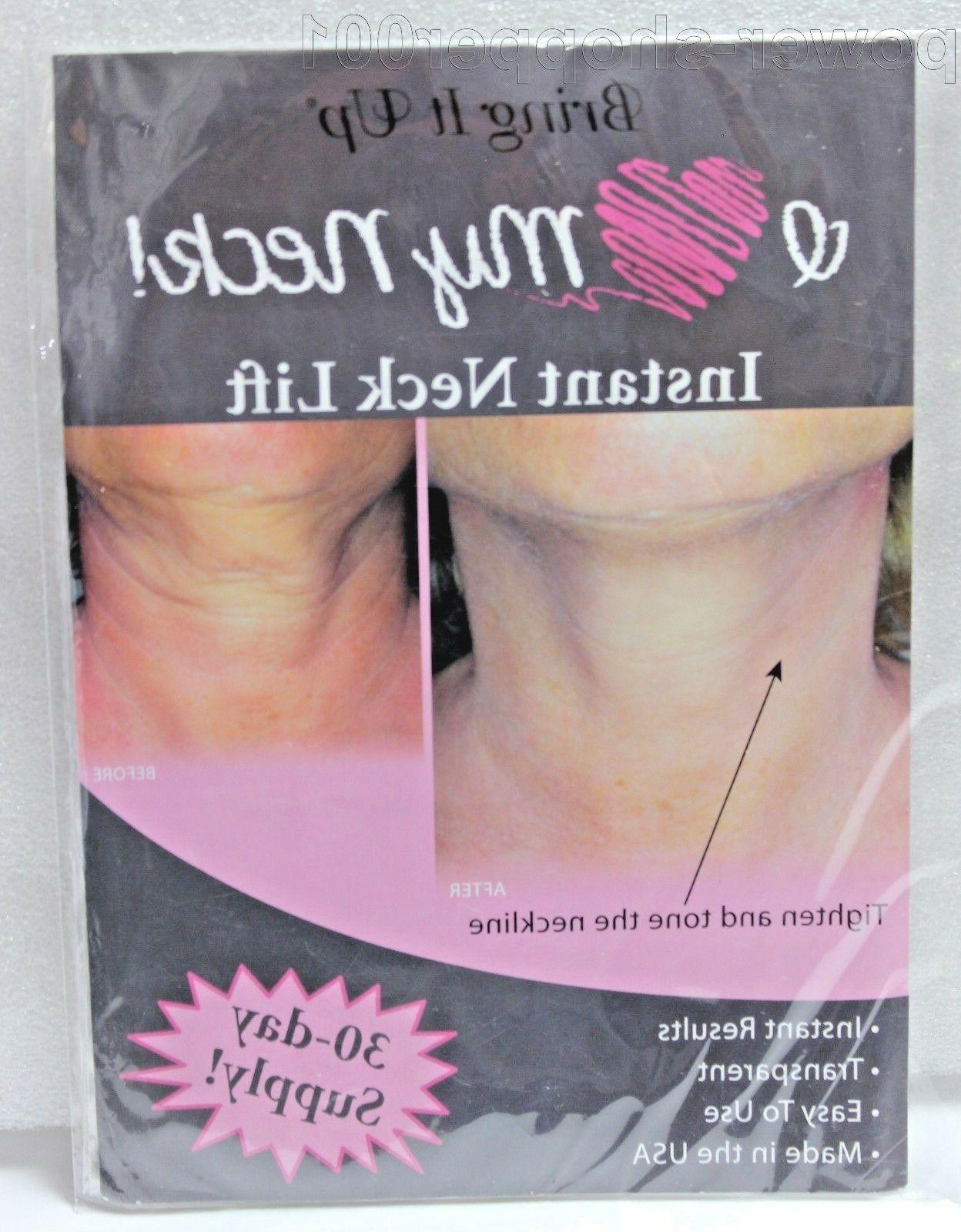 New Bring It Up Instant Neck Lift 30 day supply NEW IN PACKA