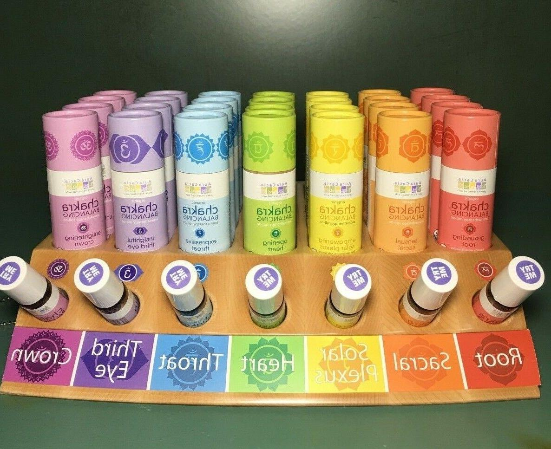 organic pure essential oils chakra balancing aromatherapy