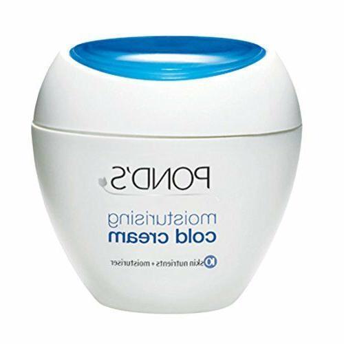 Pond's Cold cream Moisturizing Winter Care Face Skin Soft Sm