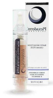 Plexaderm Rapid Reduction Cream Under Eye Bags Wrinkles 5ml