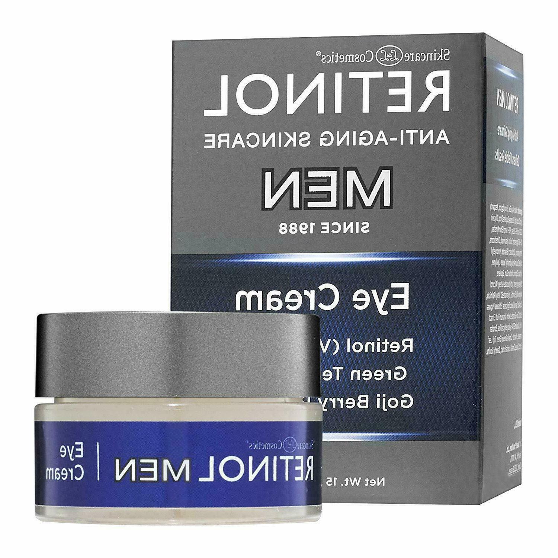Skincare Cosmetics Retinol Anti-Aging MEN Eye Cream 0.5 oz N