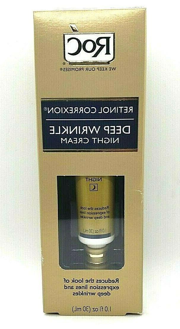 retinol correxion deep wrinkle night cream anti