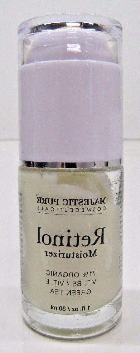 Majestic Pure Retinol Cream - 71% Organic Vit B5/Vit E/Green