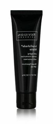 revision skincare intellishade matte tinted moisturizer spf4