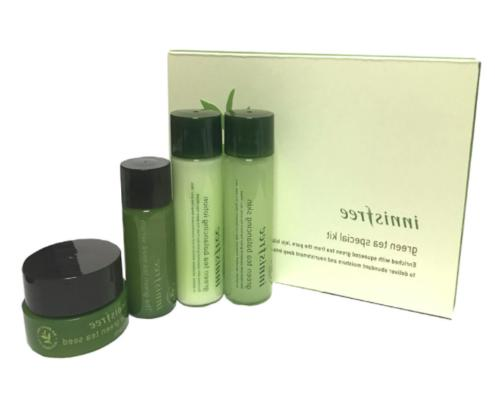 Innisfree Sample Green Tea Balancing Special Kit 4 Item, Ski