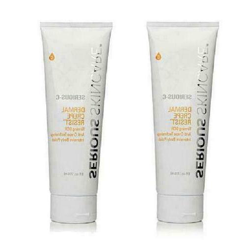 serious skincare dermal crepe resist firming intensive