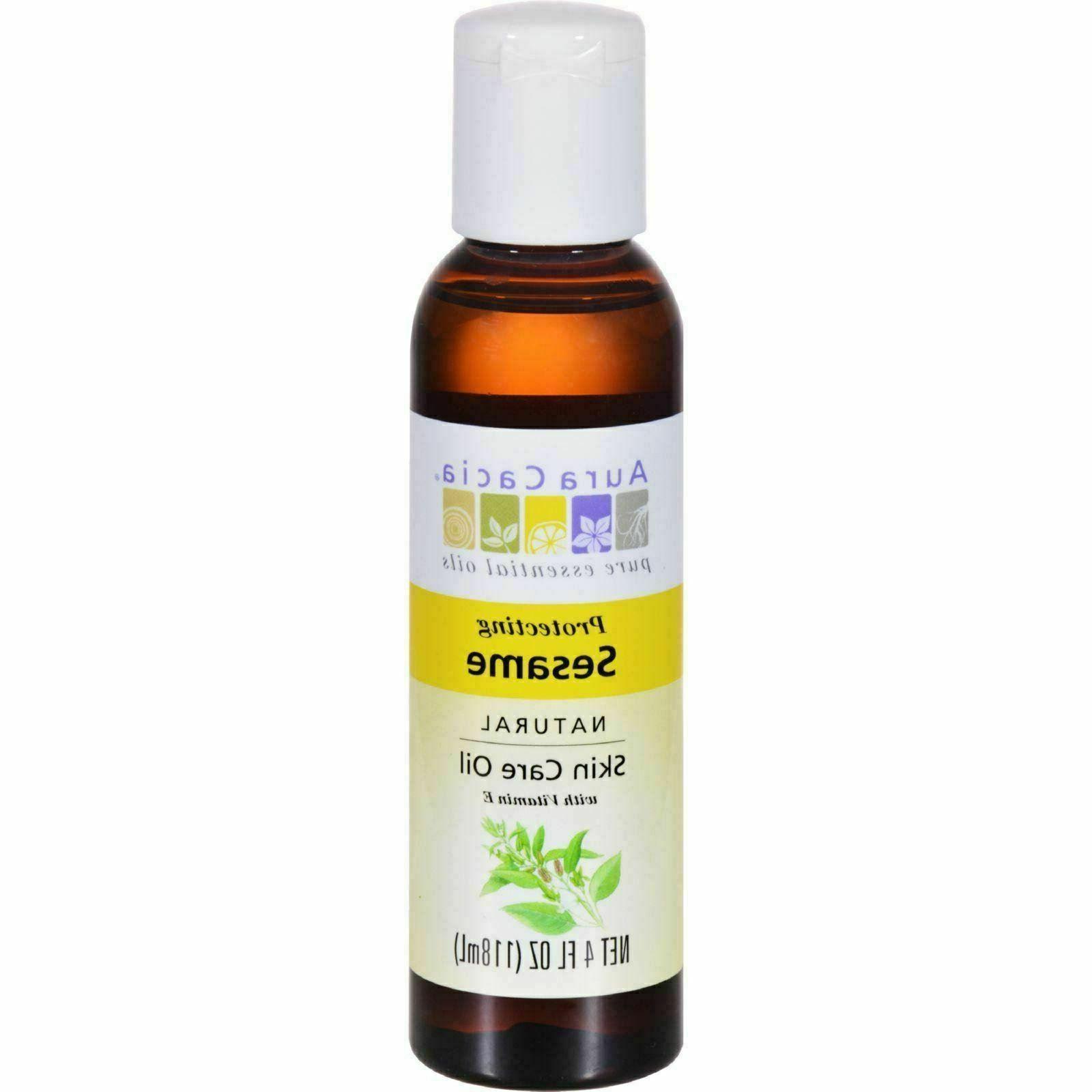 Aura Cacia Oil Skincare Sesame, 4 Ounce
