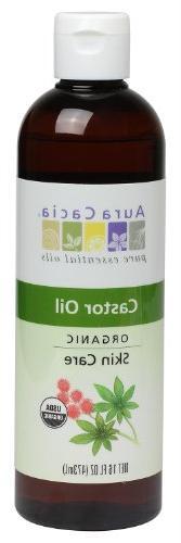 Aura Cacia Skin Care Oil - Organic Castor Oil - 16 Fl Oz, 16