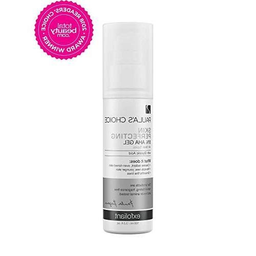 skin perfecting aha gel exfoliant