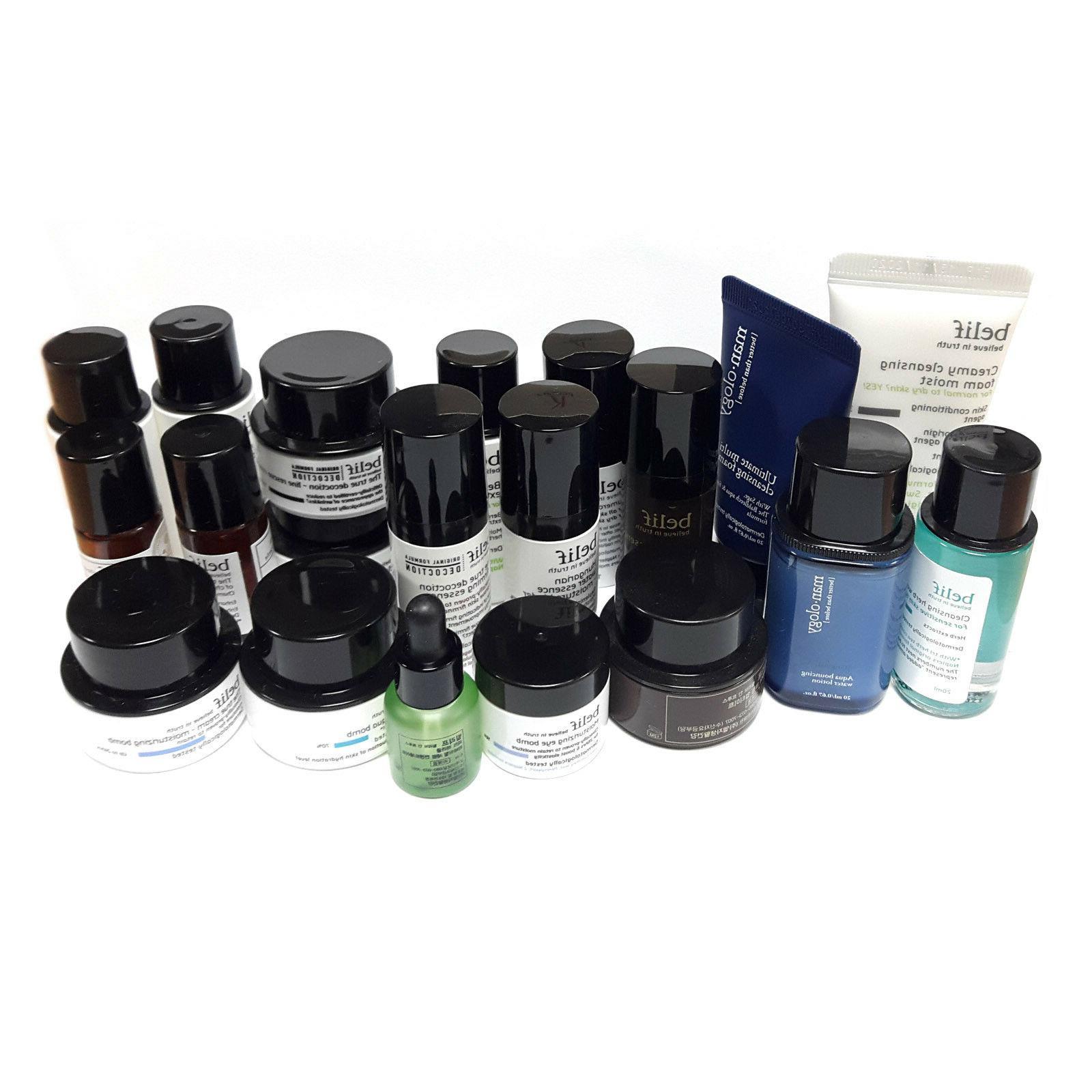 belif Skincare Deluxe samples - moisture,aqua bomb, serum, e
